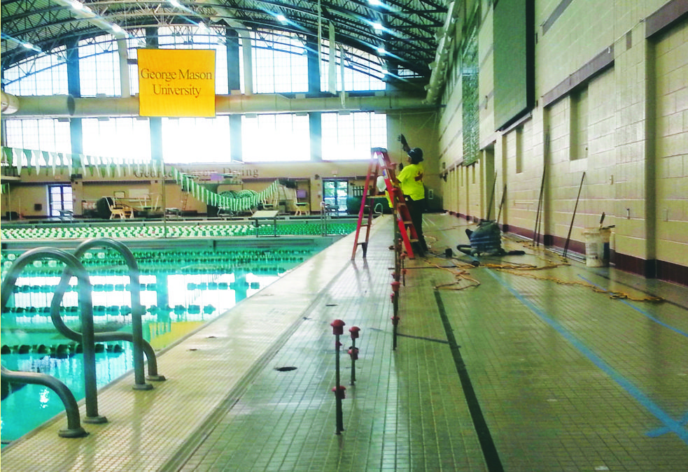 Pool Stabilized in Time for Semester